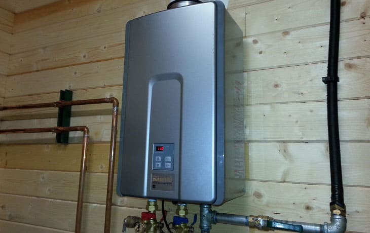 Types of RV Tankless Water Heaters