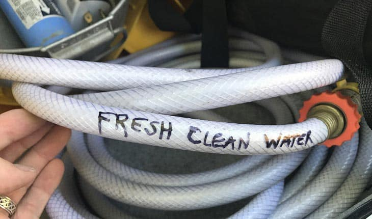 Types of rv water hoses