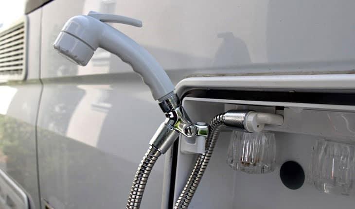 RV Shower Head Trailer Handset Camper Motorhome Head Shower