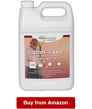 The Dicor Rv Roof Cleaner Is An Effective Yet Gentle Protectant That Keeps Clean For A Longer Period Of Time I Also Love It Does Not