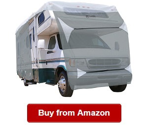 Fits 23-26 Class C Motorhome with 3-Ply Roof for Max Weather Protection XGear Outdoors Class C RV Cover Grey