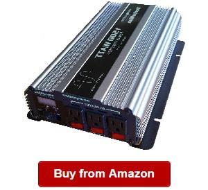 Compact AIMS Power 2000 Watt Power Inverter 12 Volt with Features