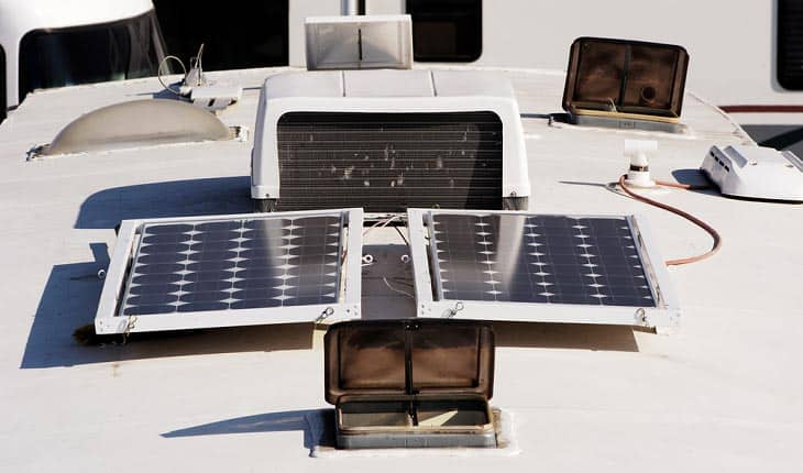 best solar panels for rv use