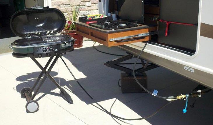 rv propane grills