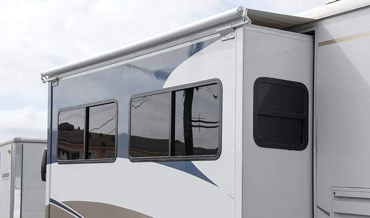 best rv slide topper