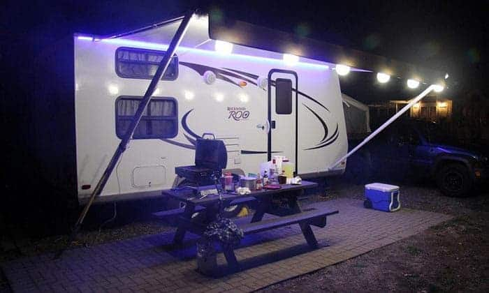 best RV awning lights