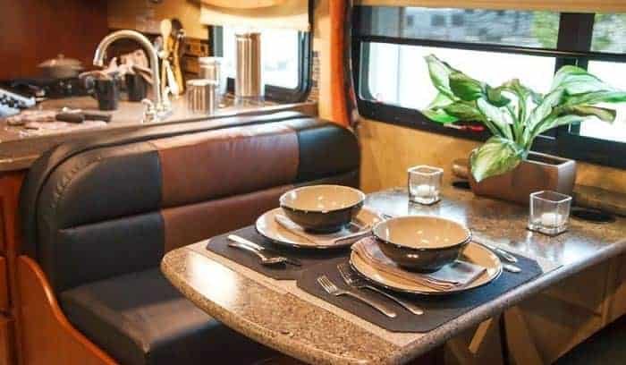 rv dinnerware