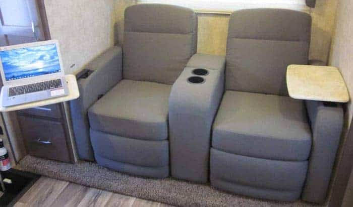 wall hugger recliners for rvs