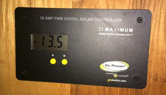 rv solar charge controller