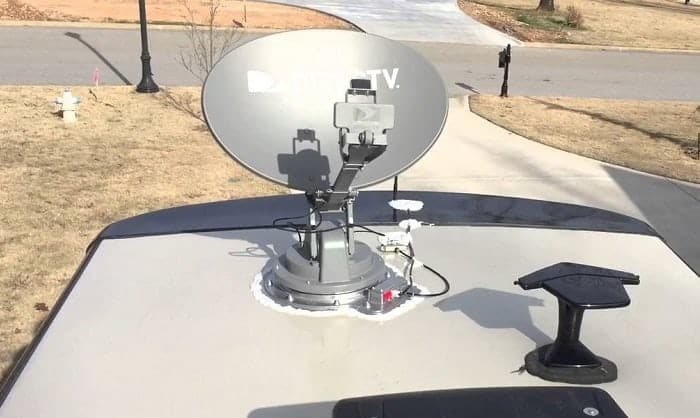 best satellite dish for rv